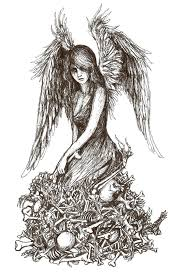 angel of death by pinguvvin on deviantart