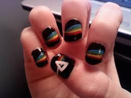 cool pink floyd inspired nail arts u2013