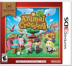 Animal Crossing Home Design Games Amazon Com Nintendo Selects Animal Crossing New Leaf Nintendo