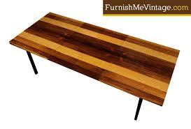 milo baughman dining table baughman rosewood hickory and walnut dining table