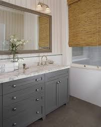 Dark Gray Bathroom Vanity by White Bathroom Vanity With Gray Bathrooms Dark Gray Framed Bath