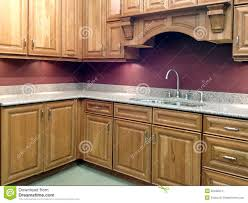 shopping for kitchen furniture modern purple kitchen with stylish furniture stock photo image