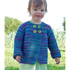 children s sweater to knit cardigan with buttons