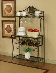 Bakers Rack Cramco Inc Cramco Trading Company Maxwell Antique Bronze Glass