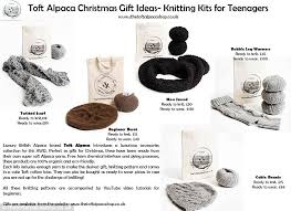 alpaca knitting wool kits for teenagers in time for christmas