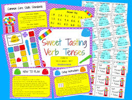 the amazingclassroom com blog free sweet tasting verb tenses