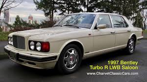 bentley turbo r 1997 bentley turbo r lwb saloon charvet classic cars youtube