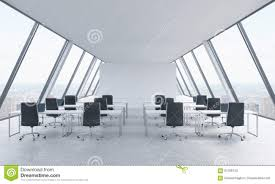 Free Office Furniture Nyc by Workplaces In A Bright Modern Open Space Loft Office White Tables