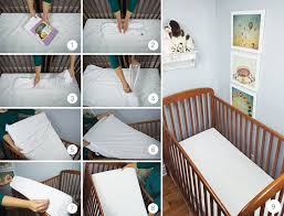 Bed Bug Crib Mattress Cover Zip Block Waterproof Hypoallergenic Crib Mattress