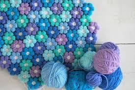 tappeti fai da te tappeto floreale uncinetto diy