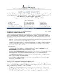executive curriculum vitae resume template academic word best photos of cv intended for 89