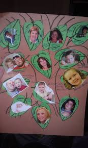 my son u0027s family tree project for kindergarten crafts and such