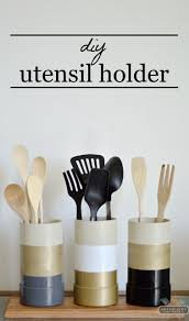 kitchen utensil holder ideas 5 awesome diy utensil holders discountqueens com