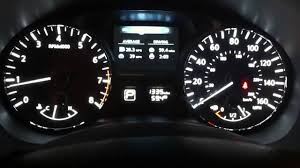 nissan altima 2015 dashboard 2014 nissan altima gauge cluster on start up youtube