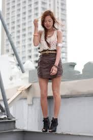brown leather skirt society for rational dress skirts black kelsi