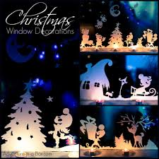 christmas window decorations adventure in a box