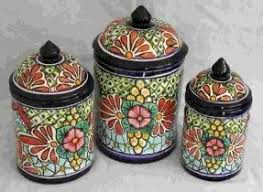 pottery kitchen canisters unique kitchen canisters sets foter