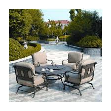 Gas Fire Pit Table And Chairs St Moritz Fire Pit Set