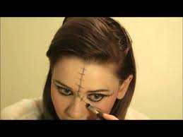 voodoo doll inspired tutorial halloween makeup youtube