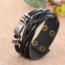 fashion charm leather bracelet images New simple style leather bracelet men jewelry fashion charm retro jpg