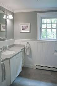 wainscoting ideas for bathrooms wainscoting ideas bathroom bathroom porcelain look tile white