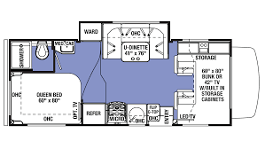 forest river sunseeker 2290s ford gas class c motorhome floor plan