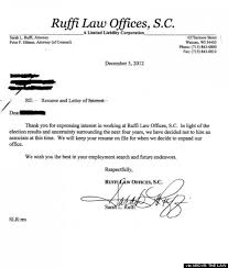 ruffi law offices allegedly cancels job opening because of obama u0027s