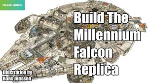 star wars build the millennium falcon review youtube
