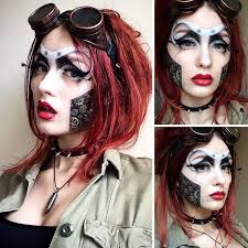 makeup artist scary makeover saida mickeviciute lithuania 6