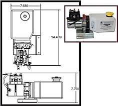 keystone travel trailer floor plans lippert 014 141111 hydraulic power unit with 2qt pump reservoir