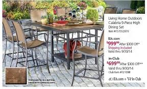 Wholesale Patio Dining Sets Idea Bjs Outdoor Patio Furniture Or Size Of Furniture Sets