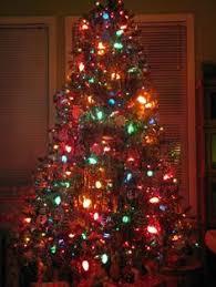 Yellow C9 Lights Rhonda S Light Tree Lighted