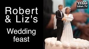 robert u0026 liz u0027s ice cream wedding cake video youtube