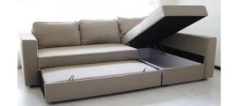 Ikea Leather Sleeper Sofa 14 Friheten Corner Sofa Bed Canap 233 D Angle Convertible