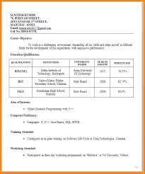 proper resume format exles sle resume resume format