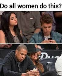 Funny Beyonce Meme - when bae is bored