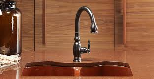 rubbed kitchen faucets bronze kitchen faucet with rubbed bronze finish kitchen