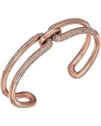 cuff link bracelet images Amazing deal michael kors iconic link pave open cuff bracelet