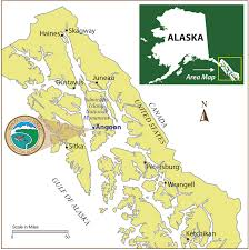 Alaska Air Map by Alaska Sport Fishing Lodge Halibut King Salmon Humpback Whales Eco