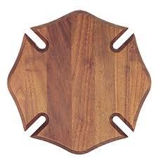 wooden maltese cross maltese cross walnut plaque wood plaques recognition awards