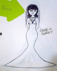 how to design your own wedding dress when you want a unique