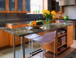 Kitchen Island Table On Wheels Kitchen Room Cool Kitchen Island On Wheels With Seating White