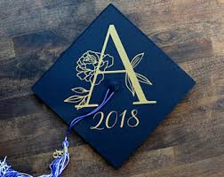 customized graduation caps custom grad cap etsy