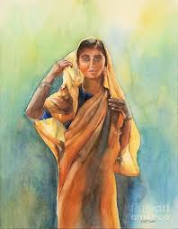21 indian woman paintings art ideas pictures images design