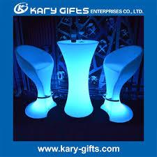Led Bistro Table Light Up Rgb Color Furniture Led Bistro Table Buy Led Bistro