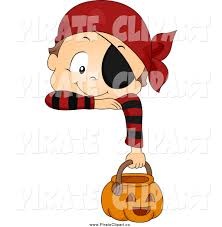 halloween characters clipart vector clip art of a pirate toddler boy in a halloween costume