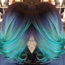 How To Dye Hair Two Colors Magical Multi Colored Hair Rio Hair Studio