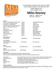 ballet resume template dance for college teacher dancer u2013 brianhans me
