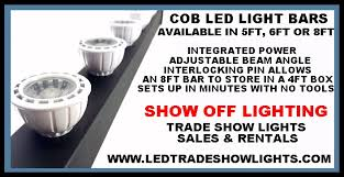 art show display lighting trade show booth overhead lighting by show off lighting for your