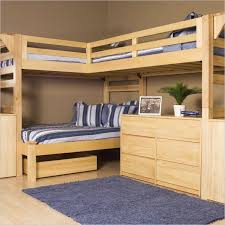 corner full size wood loft bed modern loft beds